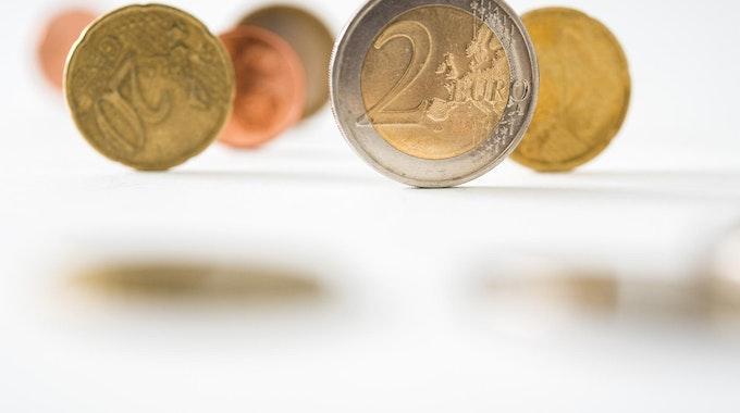 Euro- und Cent-Münzen dpa