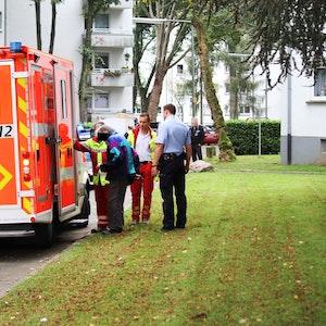 Der Mann, der die Polizei alarmierte, wurde in eine Klinik gebracht.