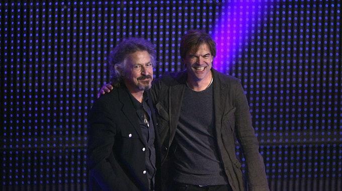 Wolfgang Niedecken (l.) und Campino.