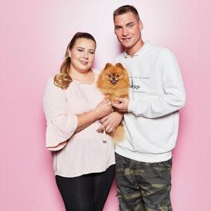 Sarafina Wollny und ihr Mann Peter (hier auf einem Foto von 2020) sorgen sich um ihre Babys