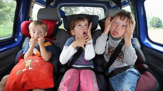 gelangweilte Kinder