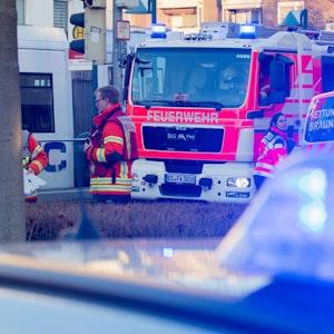 Das Foto vom 16. Januar 2020 zeigt einen Unfall mit einer Straßenbahn in Braunschweig.
