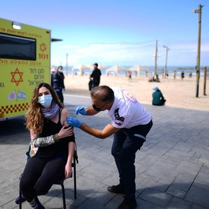 Impfung in Israel
