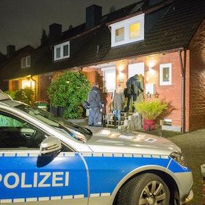 Einsatz der Polizei nach einem Einbruch.