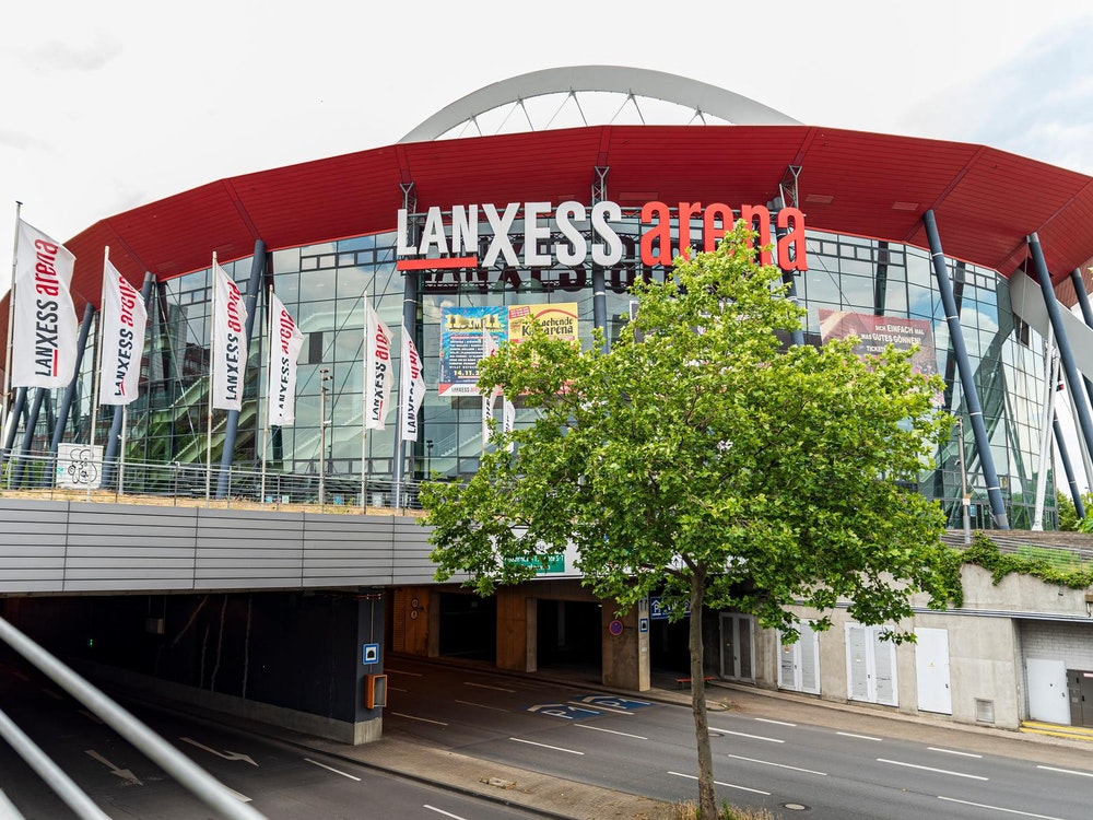 In der Lanxess-Arena wird bald erstmals Tennis gespielt.