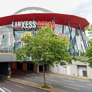 Außenansicht der Lanxess-Arena