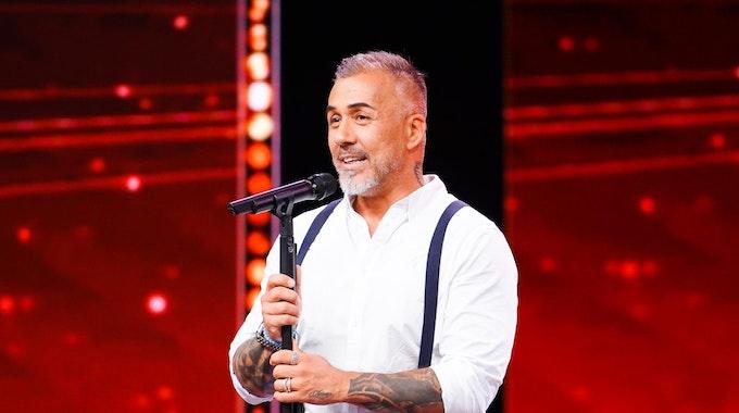 Sänger Mike Leon Grosch auf der Bühne