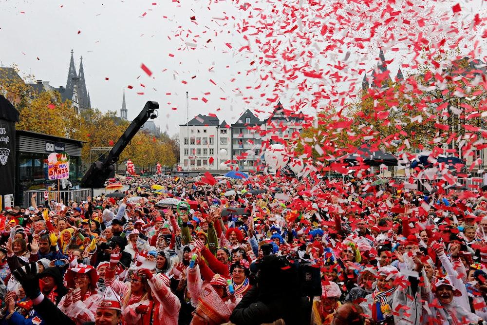 11.11. Köln auf dem Heumarkt