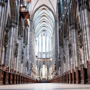 Der Kölner Dom von innen