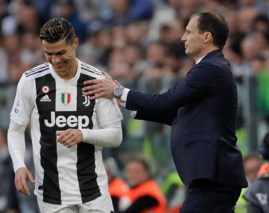 Massimiliano Allegri-Ronaldo
