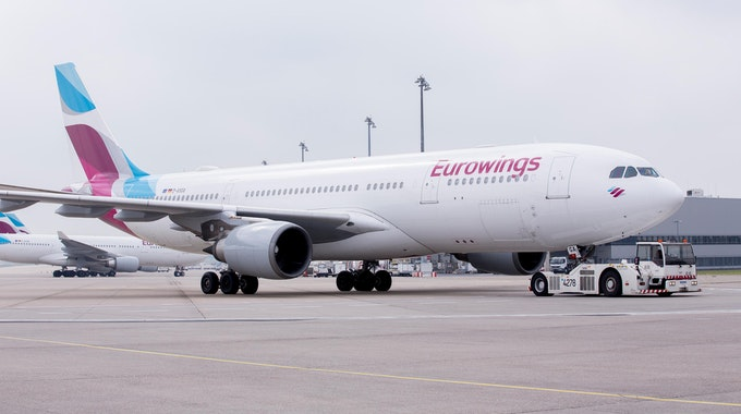 Eurowings Airbus A330 Wartung