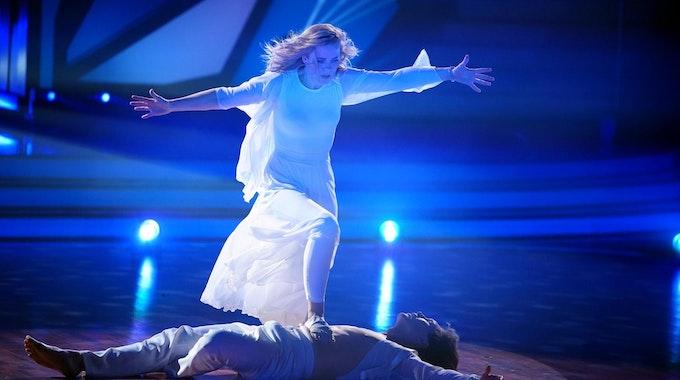 """Ilse de Lange bei ihrem Auftritt in der Tanz-Show """"Let's Dance"""""""