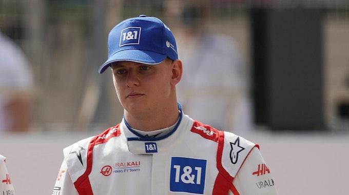 Mick Schumacher bei Testrunden in Bahrain