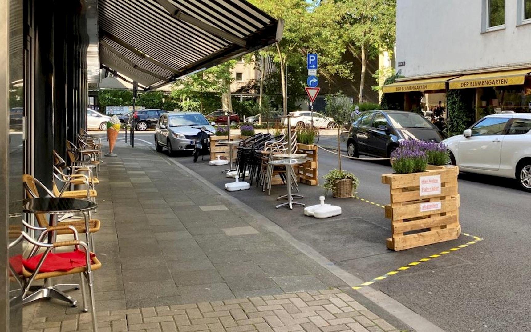 Köln: Südstadt-Kneipe Lotta macht Baustelle zum Biergarten