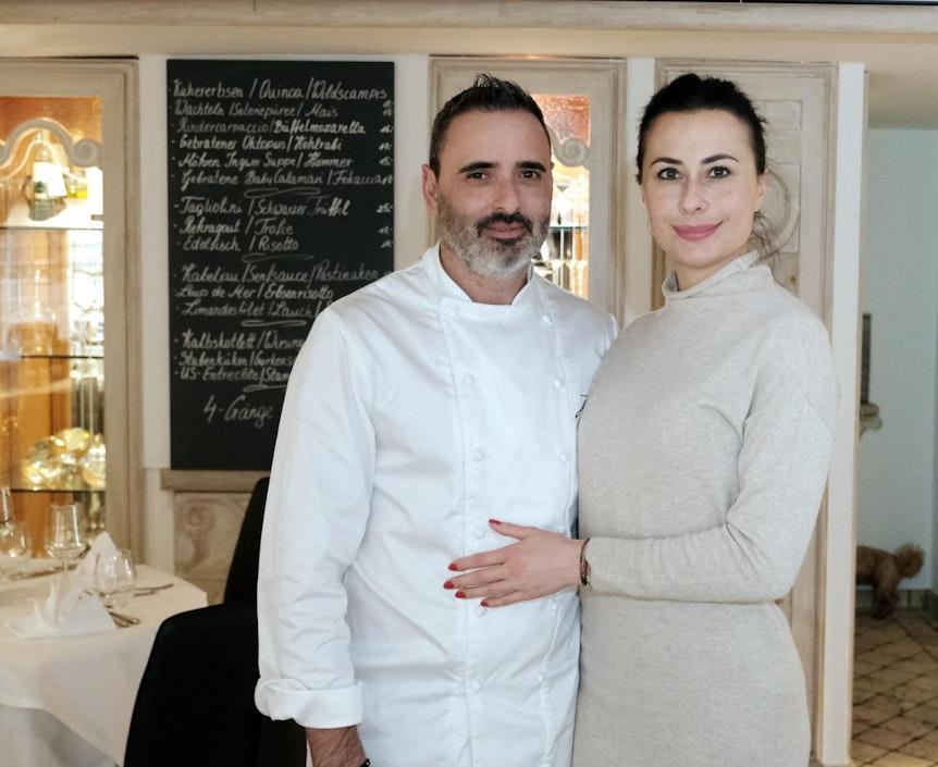 Luis Dias mit seiner Frau Anastasia