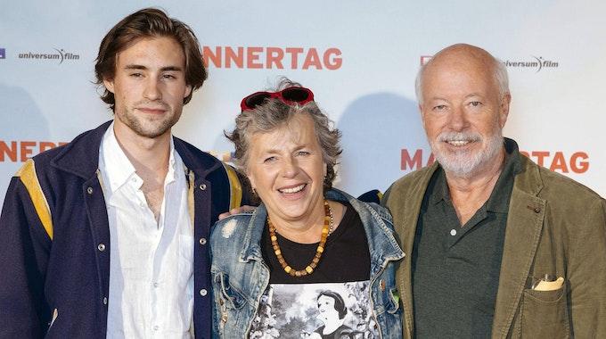 Jeremy Mockridge mit Eltern