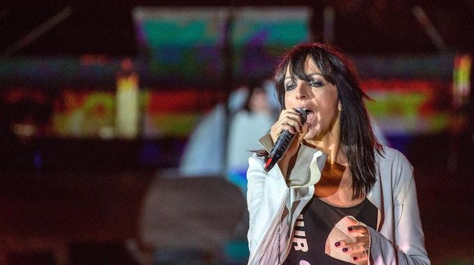 Nena, hier bei einem Konzert am 3. Oktober 2018 in Berlin, hat ihre Tournee für 2022 abgesagt.
