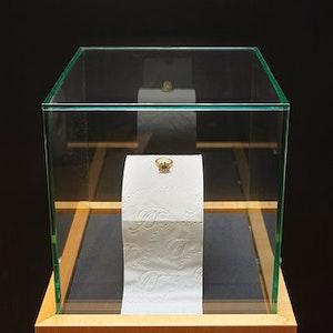 Klorollen Exponat in Leipziger Museum