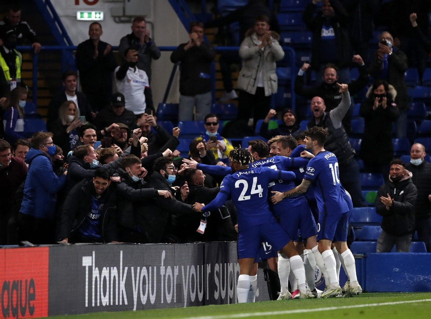 Chelsea Leicester Fans