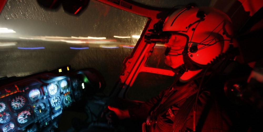 Pilot von Laserpointer geblendet