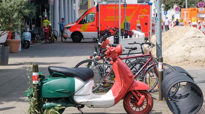 rettungswagen innenstadt