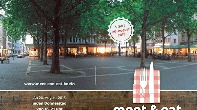 """Das neue Marktkonzept """"meet & eat"""" soll insbesondere jüngere Menschen für die Wochenmärkte begeistern."""