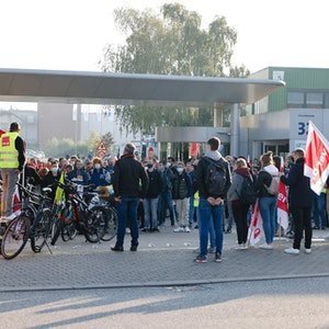Verdi-Warnstreik bei den Stadtwerken in Kiel