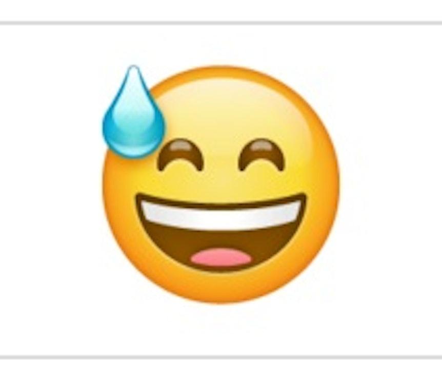 Was bedeutet emoticon auf dem kopf