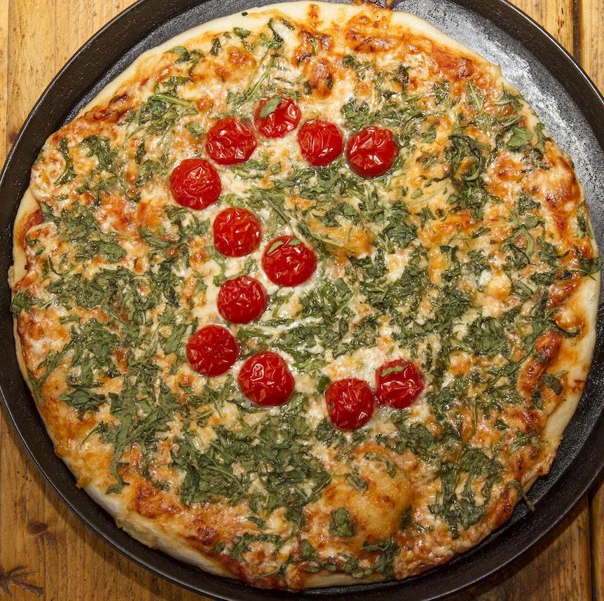 Eine Pizza von Tomatoes