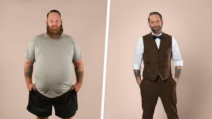 """""""Biggest Loser""""-Sieger Ole hat sein Gewicht nahezu halbiert."""