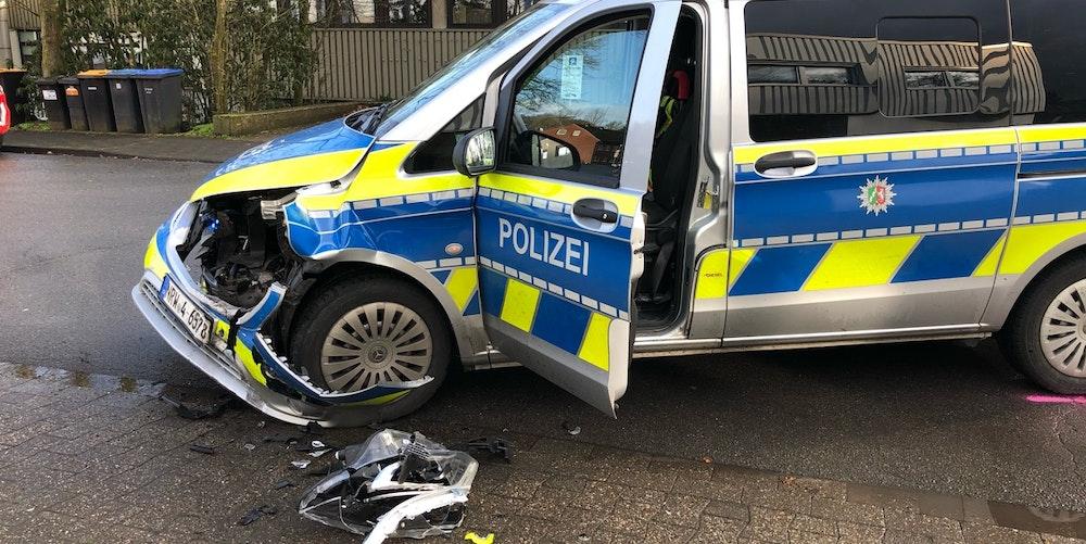 Münster Diebe rammen Polizei