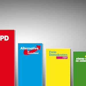 Grafik Ergebnisse Bundestagswahl