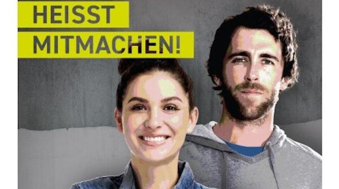Wahlhelfer-Plakat