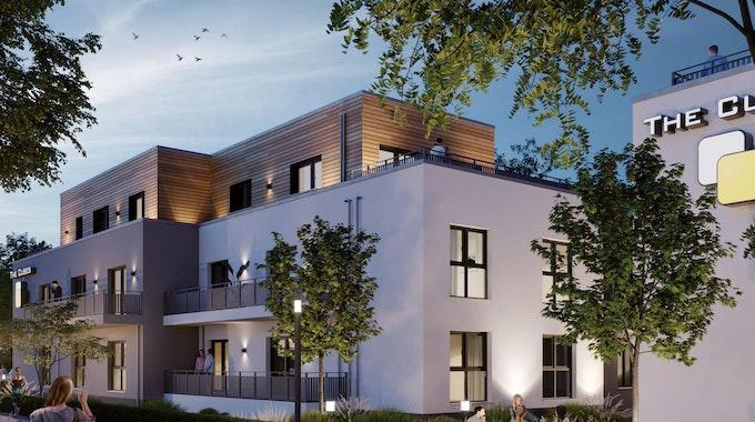In zentraler Lage entstehen in Bonn zwei Wohnhäuser.
