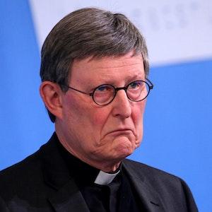 Kardinal Rainer Maria Woelki am 23.03.2021 bei einer Pressekonferenz