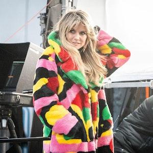 """Heidi Klum 2020 am Set von """"Germanys next Topmodel"""""""