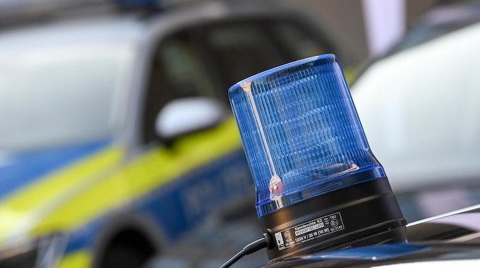 polizei blaulicht und streife