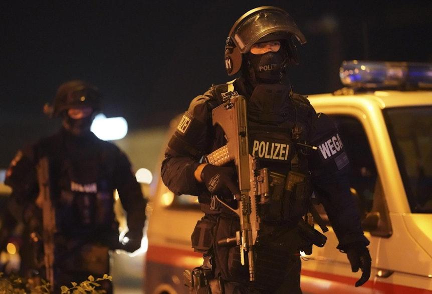 Wien Terror Polizei