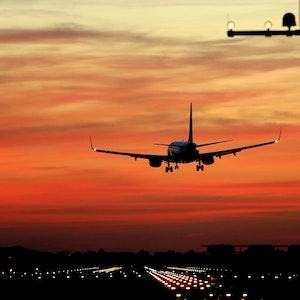 Flughafen Landung (1)