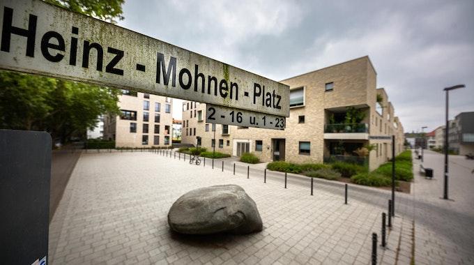Der Heinz-Mohnen-Platz in Sülz
