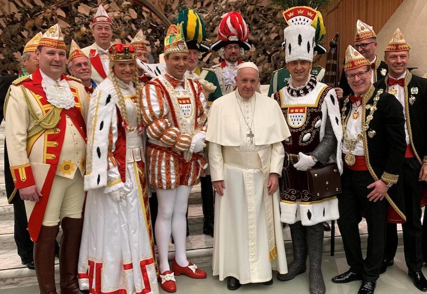 Dreigestirn Papst