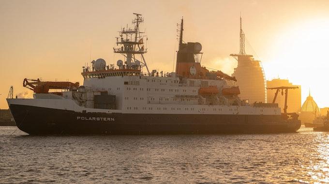 Polarstern-Rückkehr Sonne