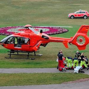 2020-07-16 Brandverletzter gefunden Biergarten Bonn Rheinaue - gepixelt (1)
