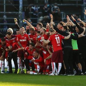 FC-Team feiert