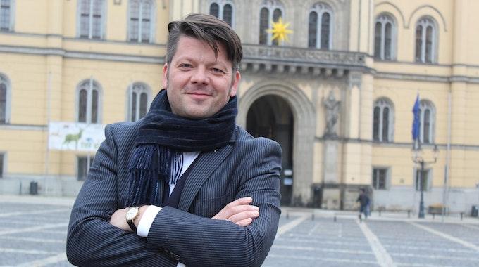 Thomas Zenker, der Bürgermeister von Zittau