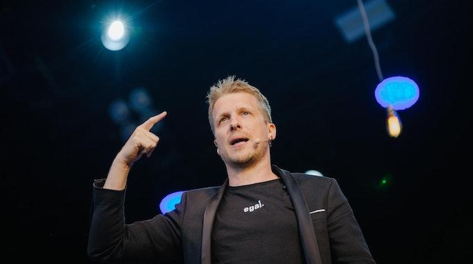 Comedian Oliver Pocher bei einem Auftritt in Hannover