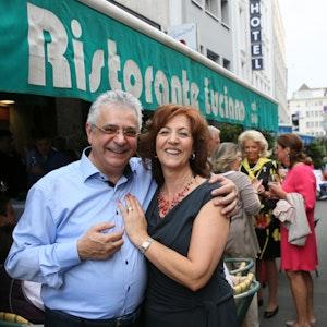 Nunzio und Raffaella Frau