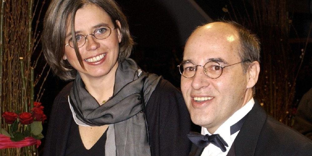 Gregor Gysi und seine Frau Andrea Lederer.