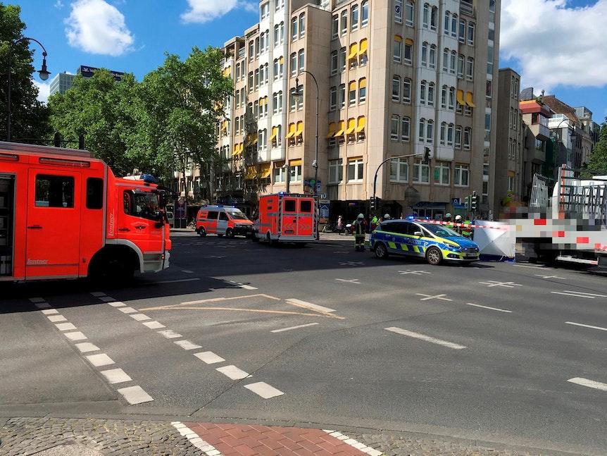 Unfall Friesenplatz gepixelt