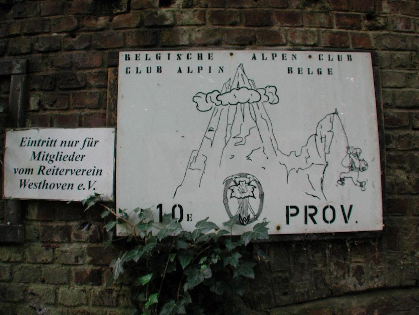 Alpenverein Schild